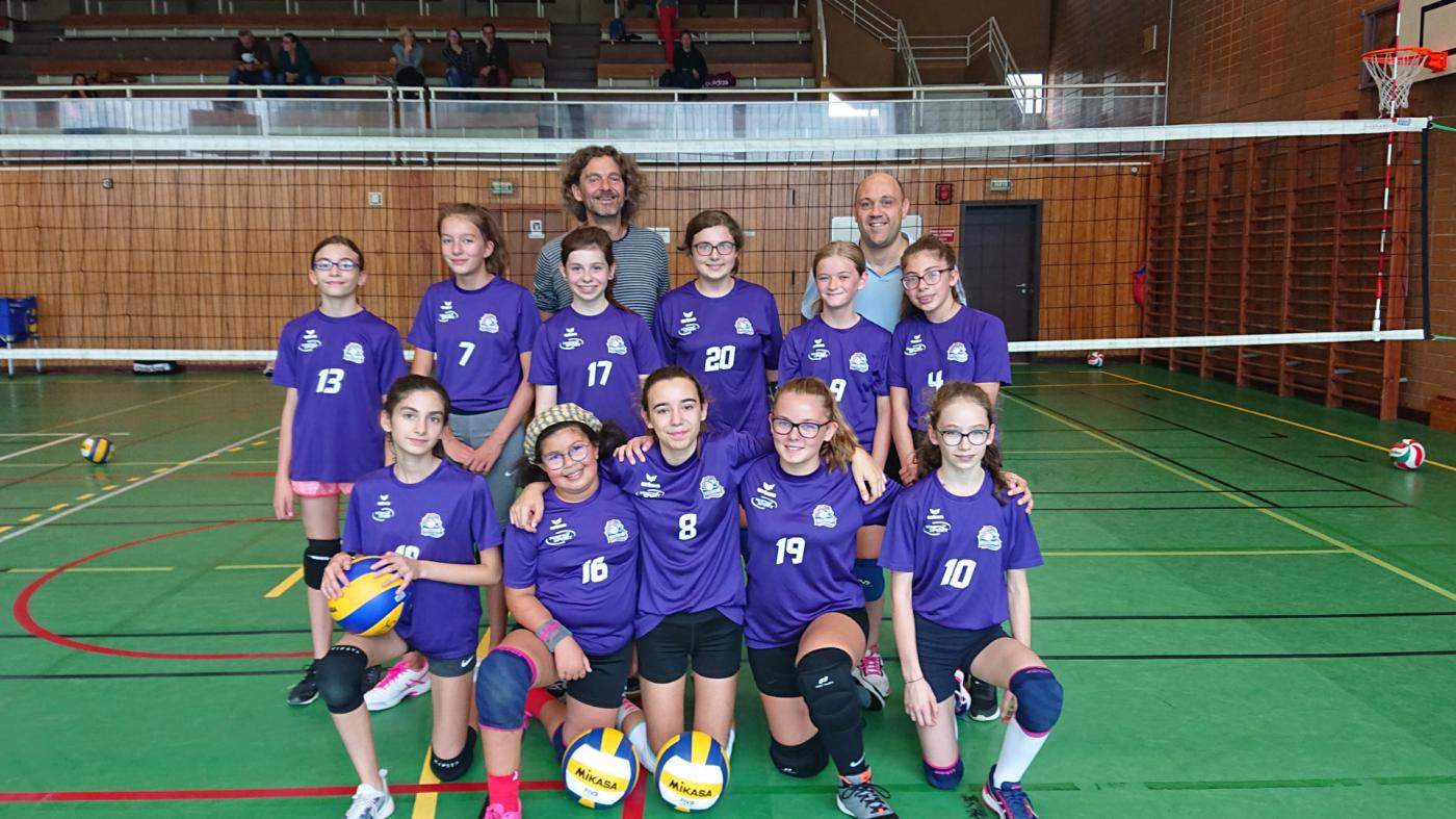 M13 Féminines 1 - Sport Club Sélestat Volley-Ball
